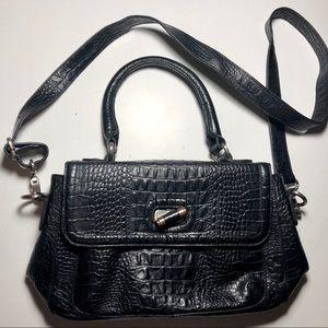 Vintage Etienne Aigner Croc Leather Purse
